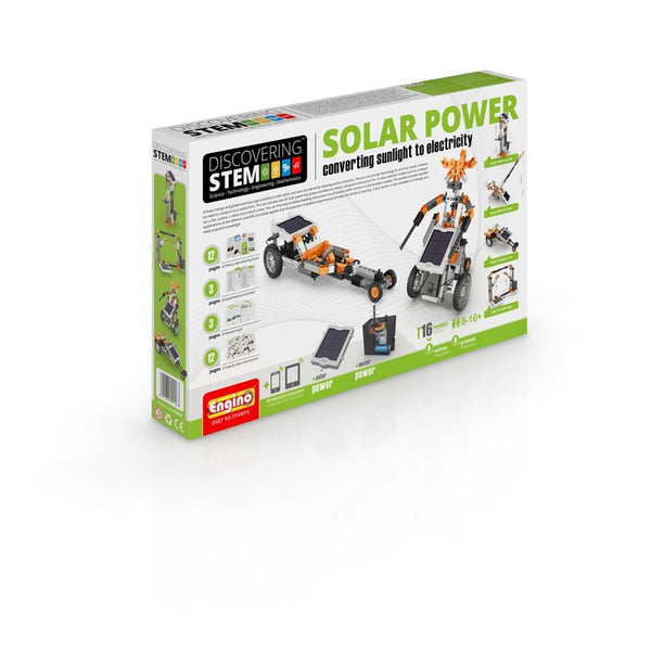 Engino S.T.E.M Solar Power Motorised Set