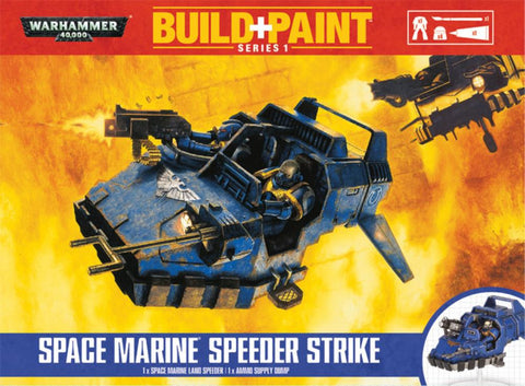 Space Marine Speeder Strike Build + Paint Warhammer 40k