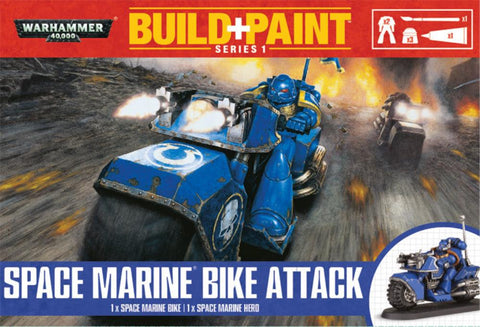 Space Marine Bike Attack Build+Paint Warhammer 40k