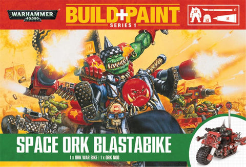 Space Ork Blastabike Build+Paint Warhammer 40k