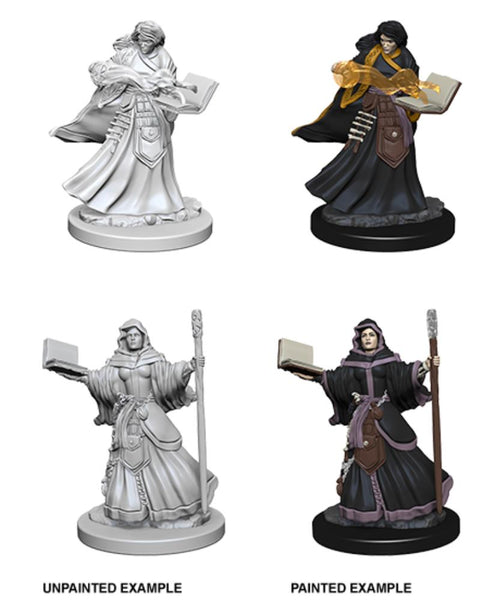 D&D Human Female Wizard Nolzurs Marvelous Miniatures Unpainted Minis