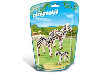 Playmobil Zebra Family Brisbane CBD City Hobbies and Toys