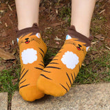 3D Animals Cat Footprints Cartoon Socks