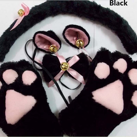 Cats Cosplay Costume Contains Paws Ears And Cat Tail Gear Eden