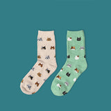 Lovely Cat Socks 5 Colors
