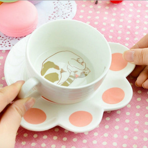 Cat Paw Mug Set