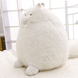 White Round Fluffy Cats Toy