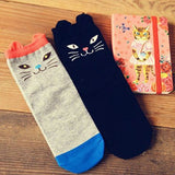 Harajuku Japanese Cartoon Cat Lovers Socks