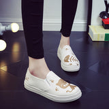 Cat & Fish Casual Canvas Shoes