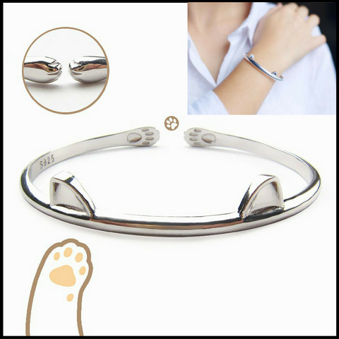 Cute Cat Claw Bangle