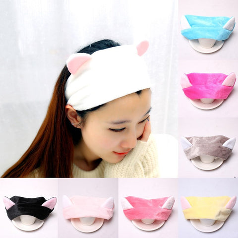 Cute! Cat Ear Headscarf