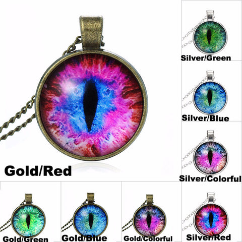 Cat Eye Necklace FREE + Shipping