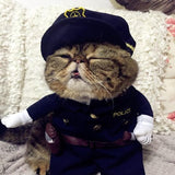 Pet Costumes - Cats/Dogs Police Costume