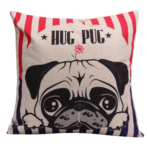 Pillow - Hug Pug Cushion Pillow