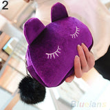 Portable Cartoon Cat Pouch