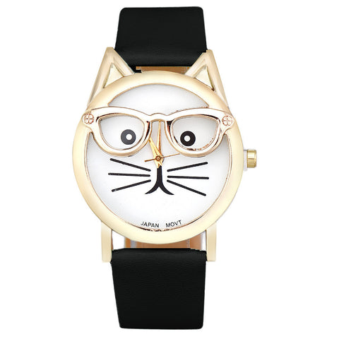 Cat Glasses Watch FREE