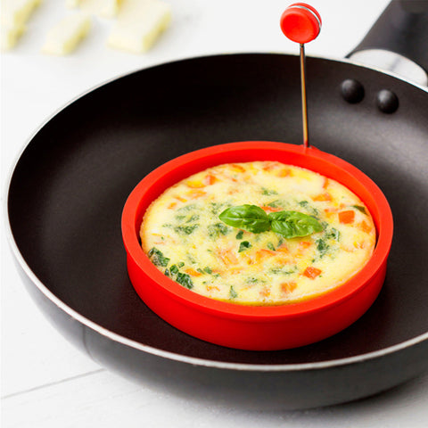 Round Shape Silicone Omelette Egg Shaper