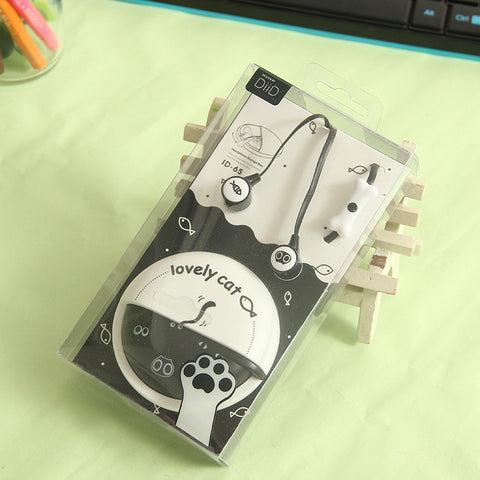Cute Catcaron Earphone