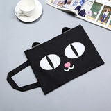 Black Cat Canvas Bag