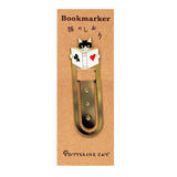 Cat Family Metal Bookmark Clip