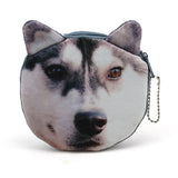 New Cute Cat Face Zipper Case Coin Purse