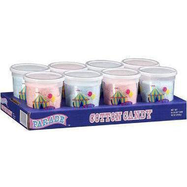 Parade Cotton Candy Tub, 8 CT - 2 OZ