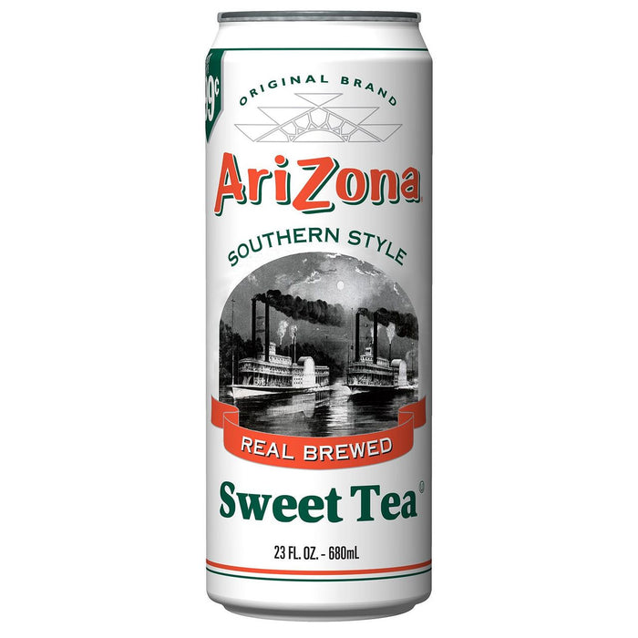 Arizona Southern Style Sweet Tea Cans, 24 - 23 OZ
