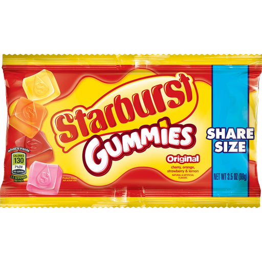Starburst Gummies Original Share Size, 15 CT - 3.5 OZ