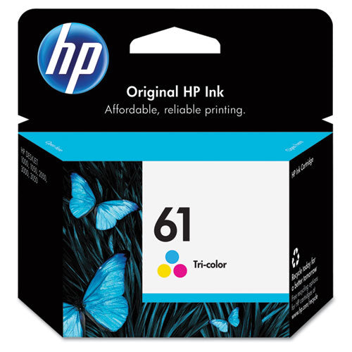 HP 61, (CH562WN) Tri-color Original Ink Cartridge