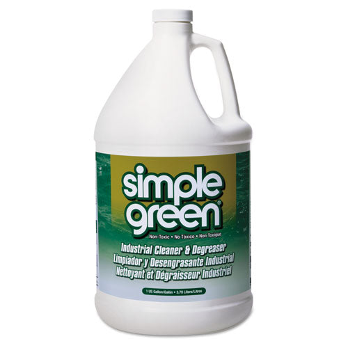 Simple Green Concentrated Industrial Degreaser & Cleaner (Sassafras Scent, 1 gallon, 1 bottle)