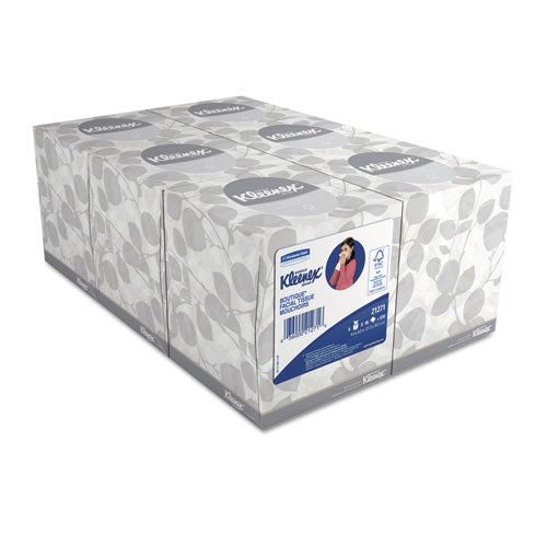 Kimberly Clark White Facial Tissue 2-Ply, 95/Box, 6 Boxes/Pack