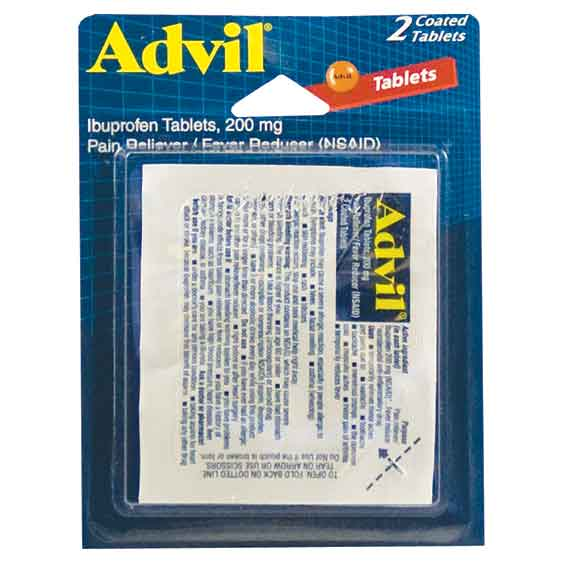 Advil Coated Tablets Packs, 6 CT - 2 PK