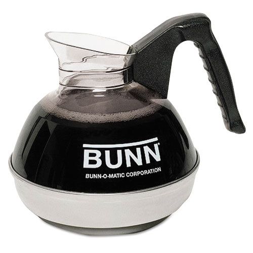 12-Cup Coffee Carafe for Pour-O-Matic Bunn Coffee Makers, Black Handle