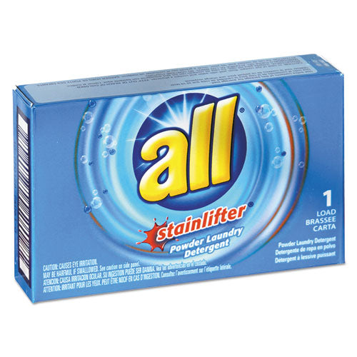 All Ultra Coin-Vending Powder Laundry Detergent, 1 load, 100/Carton