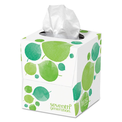 100% Recycled Facial Tissue, 2-Ply, 85/Box