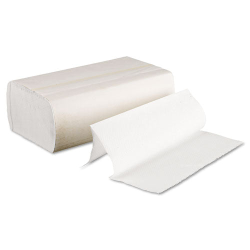 Multifold Paper Towels, White, 9 x 9 9/20, 16 - 250 CT