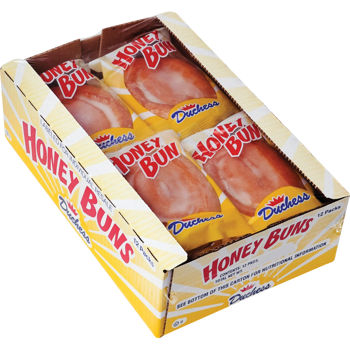 Duchess Honey Buns, 12 CT - 3 OZ