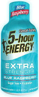 5 Hour Energy Extra Strength Blue Raspberry, 12 CT - 1.93 OZ