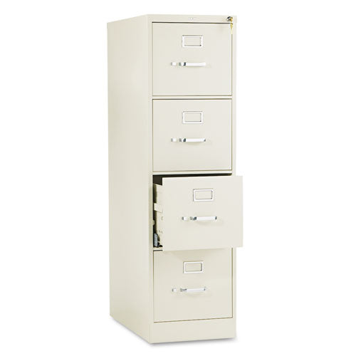 511 Series Four-Drawer, Full-Suspension File, Letter, 52h x25d, Putty