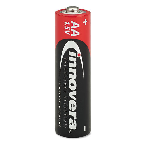 Alkaline Batteries, AA, 24 Batteries/Pack