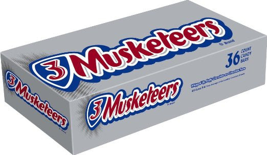 3 Musketeers, 36 CT - 1.92 OZ