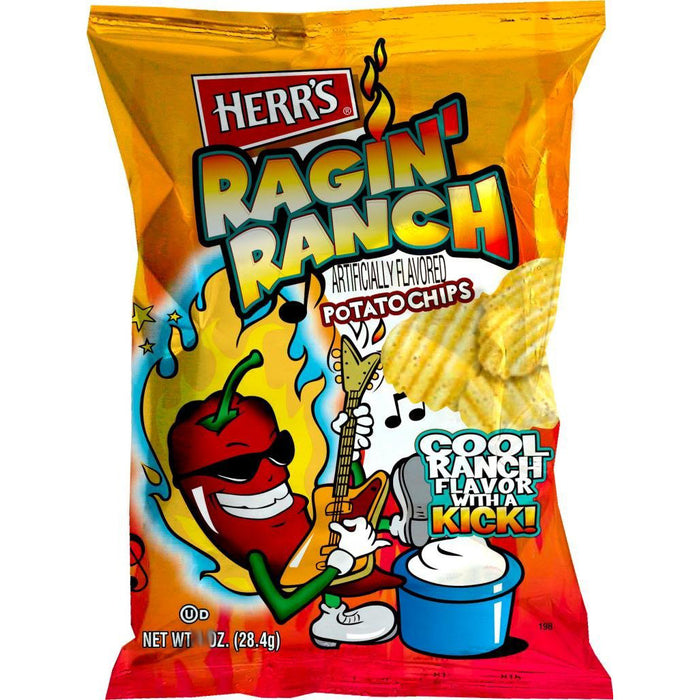 $1.49 Flavor Mill Ragin Ranch Chips, 12 - 2.75 OZ