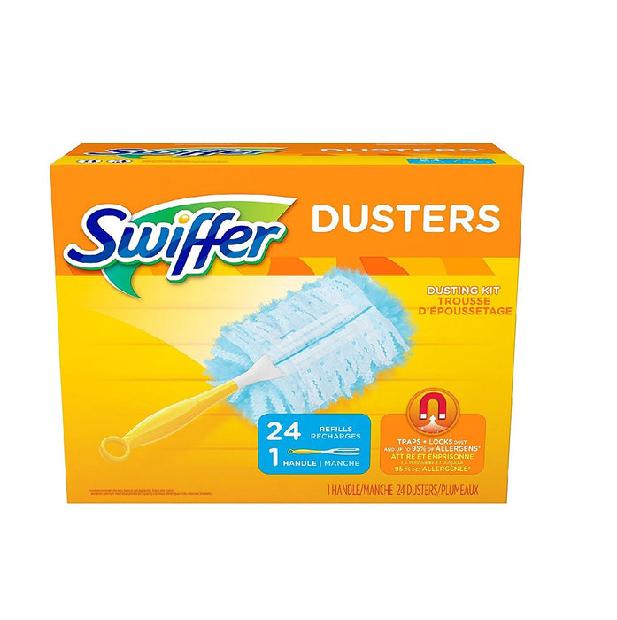 360 Swiffer Duster, 1 handle 24 Dusters