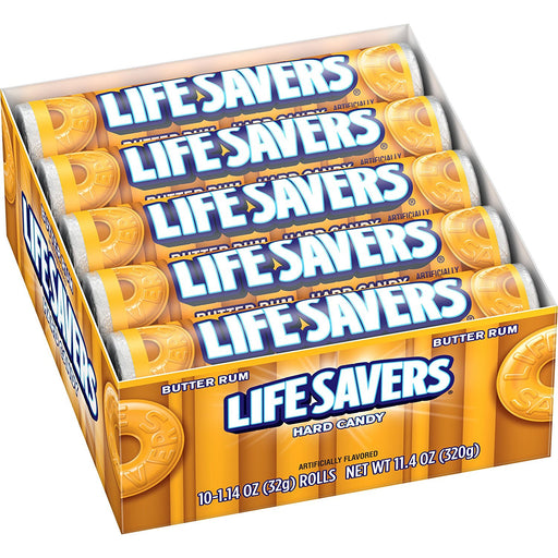Life Savers Hard Candy Butter Rum, 20 CT - 1.14 OZ