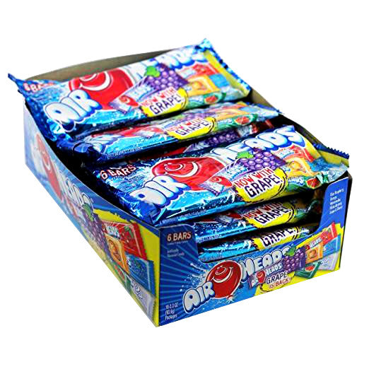 AirHeads Assorted Chewy Fruit Candy, 18 CT - 3.3 OZ