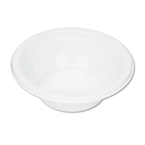 Plastic Dinnerware, Bowls, 5oz, White, 125/Pack