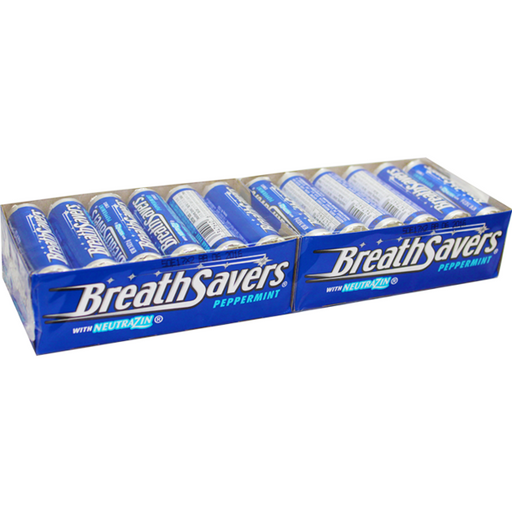 Breath Savers Peppermint, 24 CT - 0.75 OZ