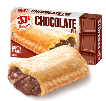 99¢ JJ Chocolate Pie, 12 - 4 OZ