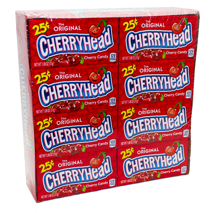 25¢ Cherryhead, 24 CT - 0.8 OZ