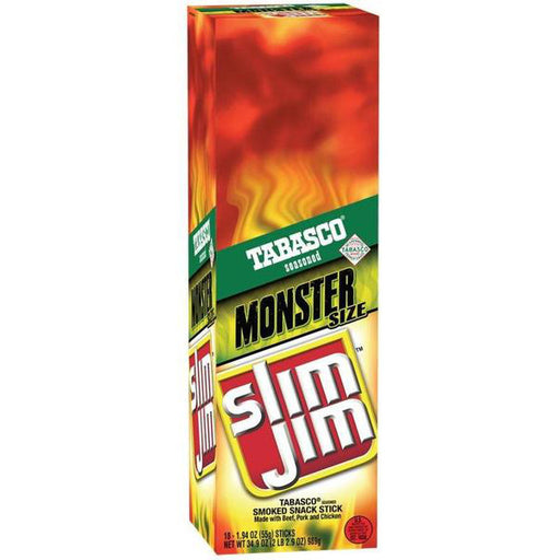 Slim Jim Monster Tabasco, 18 CT - 1.94 OZ